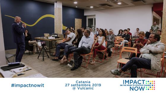 Il Prof. Faraci interviene sull'imprenditoria sociale a Impact Now Catania