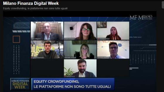Milano Finanza Digital Week: 6 piattaforme di Equity Crowdfunding a confronto - Video